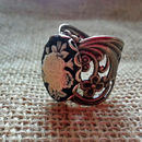 Rose Cameo Vintage Victorian Ring