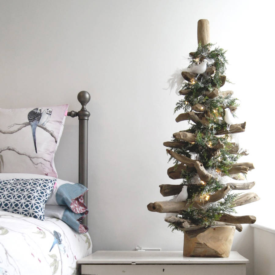 Original Bleached Driftwood Christmas Tree
