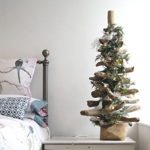 Natural Driftwood Christmas Tree