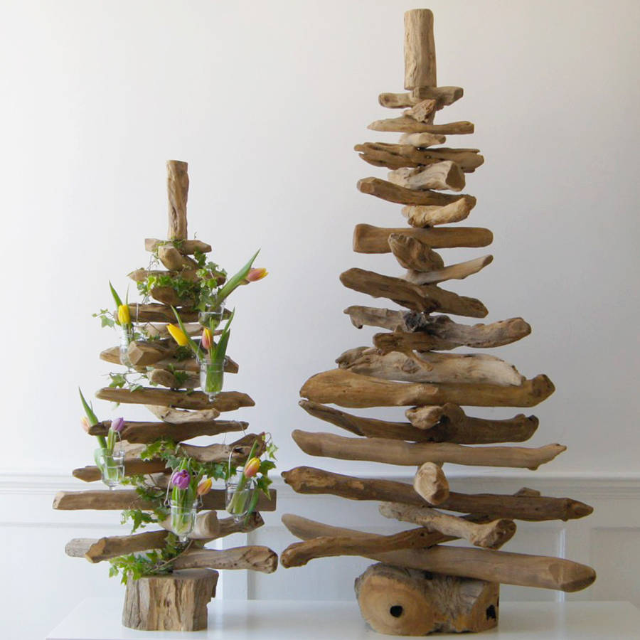 3ft natural driftwood christmas tree by doris brixham. Black Bedroom Furniture Sets. Home Design Ideas