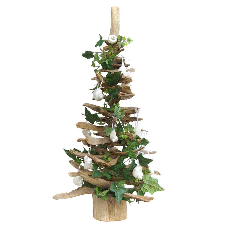 3ft Natural Driftwood Christmas Tree By Doris Brixham