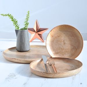 Mango Wood Plate - home sale