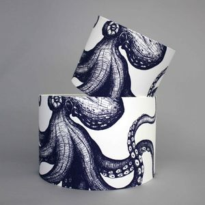 45cm Octopus Lampshade - office & study
