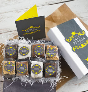 Luxury Brownie Box - foodies