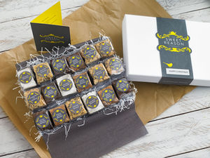 Indulgent Brownie Bites - food gifts
