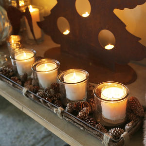 Centrepiece With Four Candle Holders