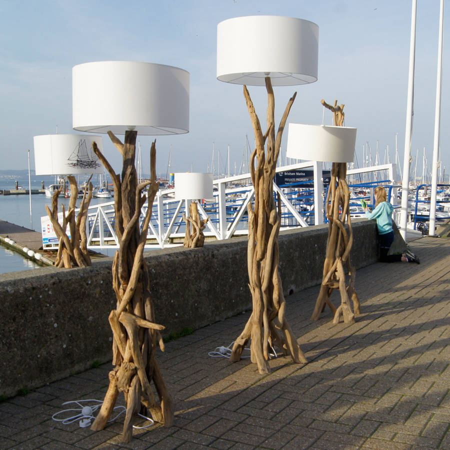 floor and lamp driftwood pin isra lights