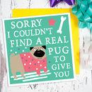 Pug Card