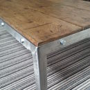Retro Style Oak Coffee Table