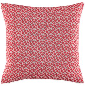 Adele Red Cushion - bedroom