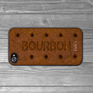 Bourbon Biscuit Case For iPhone - gifts for her