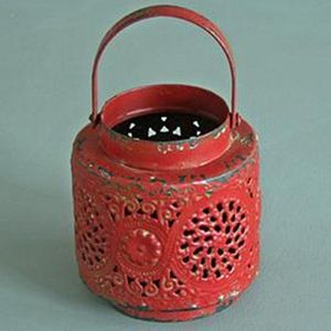 Vintage Red Tea Light Lanterns - shop by price