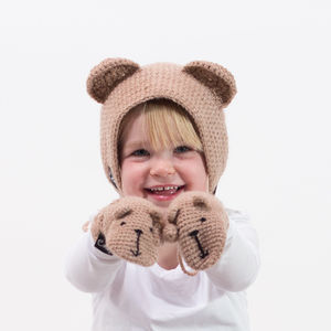 Handmade Animal Character Hood - children's accessories