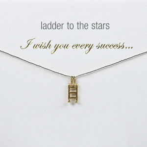 Charm Necklace To Wish You Every Success - necklaces & pendants
