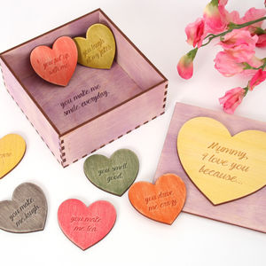 Tokens Of Love To Mummy Jewellery Keepsake Box - storage & organisers