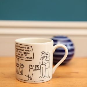 'Obedience Classes' Off The Leash Mug
