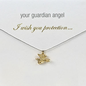 Angel Charm Necklace For Protection In Life