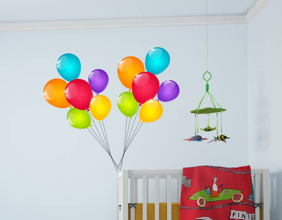 balloon wall stickers by parkins interiors balloon wall stickers by parkins interiors