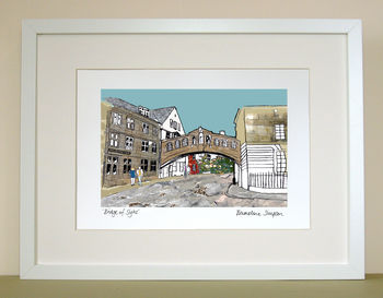 Bridge Of Sighs A4 Print