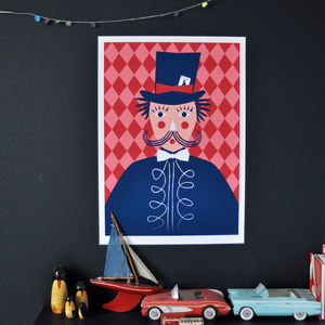 Magician Hand Screen Print - pictures & prints for children