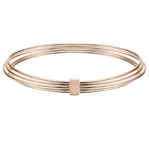 Molly B Couture Rose Gold Vermeil Slinky Bangle - bracelets & bangles