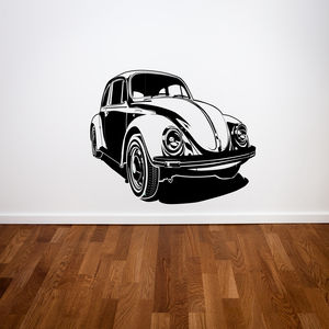 Beetle Car Wall Stickers