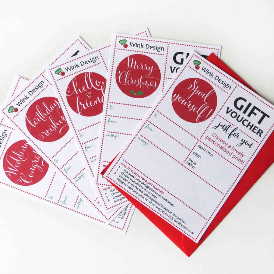 Gift vouchers and great gifting ideas from green-host-demo.ga If you cannot decide on the right gift it is a safe bet to opt for a green-host-demo.ga gift voucher. Buy one for a denomination of your choice and give someone the freedom to choose their own gift/5(9).