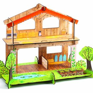 Djeco Pop Up Play Farm - dolls' houses