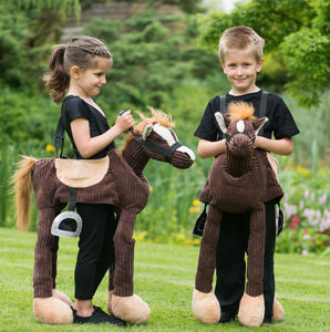 Ride On Pony Costume - summer activities
