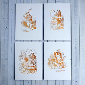 Alice In Wonderland Note Card Set