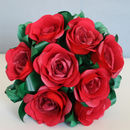 Red Rose Paper Bouquet