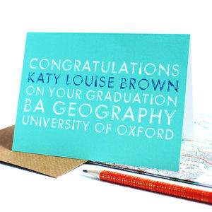 Personalised Graduation Card - view all sale items