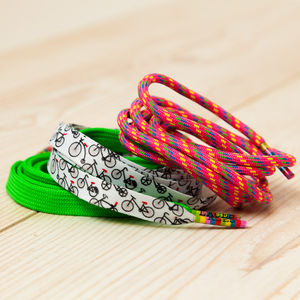 Bicycles Shoelaces Pack For Cyclists