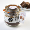 Gorgeously Gooey Brownie Baking Mix Jar