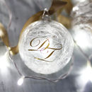 Personalised Monogrammed Christmas Bauble