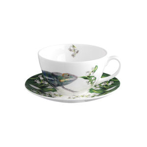 Chameleon Cup And Saucer