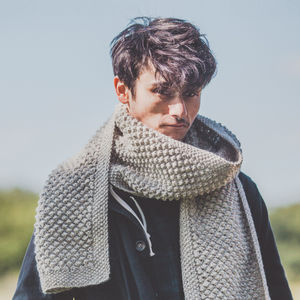 Bramble Scarf Knitting Kit