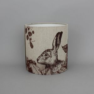 Game And Garden 20cm Hare Lampshade - lampshades