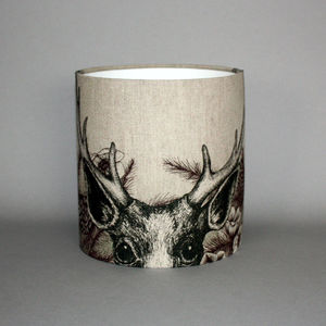 Game And Garden 20cm Stag Lampshade - lighting