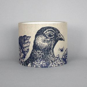 Game And Garden 30cm Grouse Lampshade - furnishings & fittings