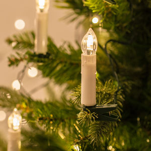 50 Christmas Tree Candle Lights - view all decorations