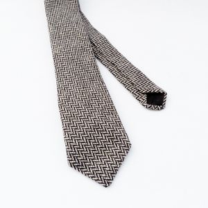 British Herringbone Tweed Tie
