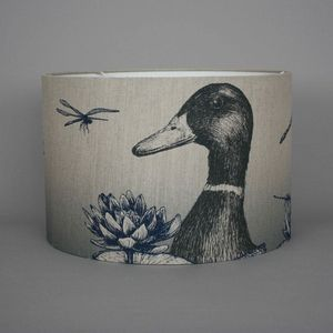 Game And Garden 45cm Duck Lampshade - living room