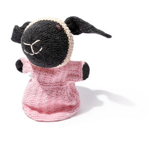 Sheep Hand Puppet In Organic Cotton