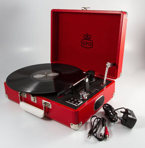 Gpo Attaché Retro Record Player