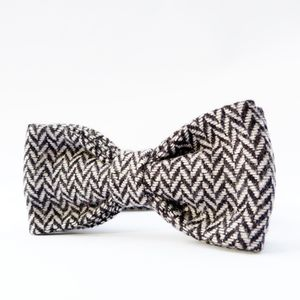 British Herringbone Tweed Bow Tie