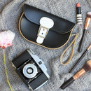 Personalised Mini Leather Clutch
