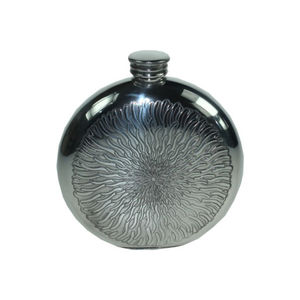 Engraved Sunfish Hip Flask