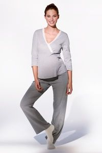 Maternity And Breastfeeding Pyjamas - maternity