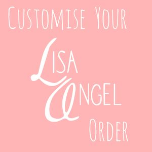 Customise Your Lisa Angel Order - women's jewellery